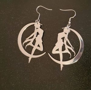 Sailor Moon Dangle Earrings